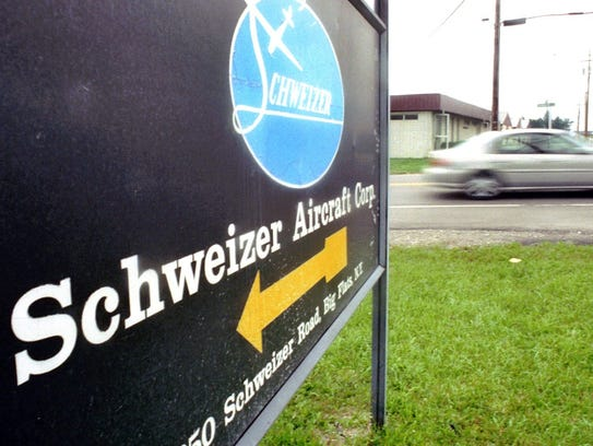 Schweizer Aircraft operated off Chambers Road in Big