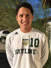 Alejandro Segura, from Mesa Skyline, is azcentral sports'