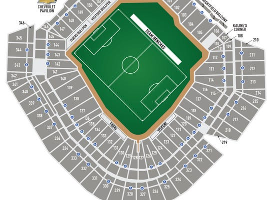 Soccer at Comerica Park: What you need to know