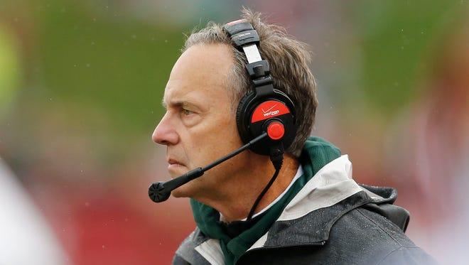 Michigan State head coach Mark Dantonio.