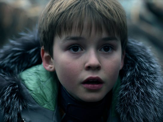 """Max Jenkins stars as Will Robinson in Netflix's new adaptation of """"Lost in Space."""""""