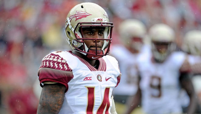 De'Andre Johnson was one of several freshman who starred in Saturday's spring game.