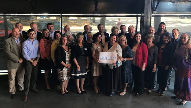 IMPACT 100 Pensacola Bay Area announced its 15 finalists for 2017 grants on Sept. 13, 2017.