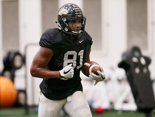 LAF Purdue spring football day 9