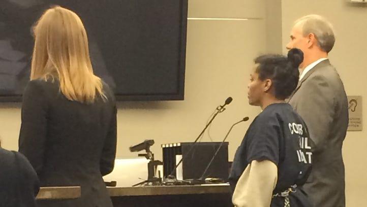 Ebony Berry in court