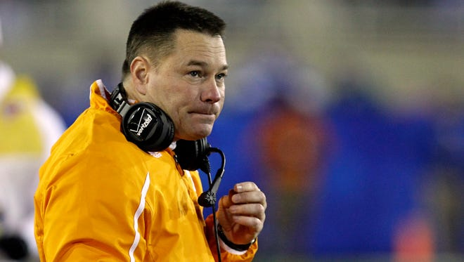 Butch Jones' Volunteers open the season on Aug. 31 against Utah State.