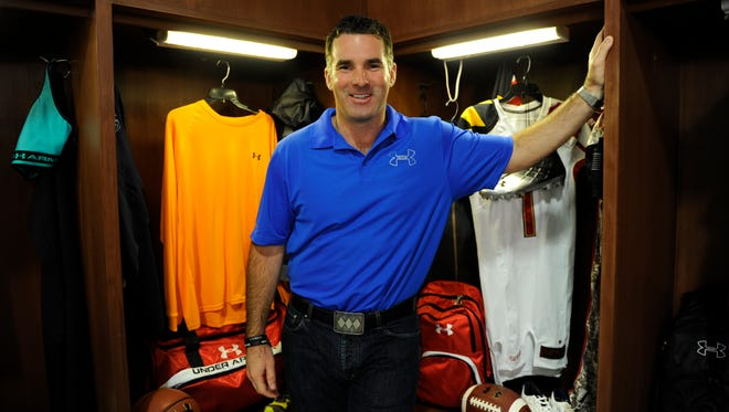 Under Armour's CEO Kevin Plank.