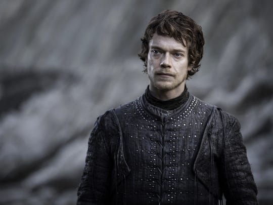 'Game of Thrones'' Theon Greyjoy (Alfie Allen) is an heir to one of Westeros' royal lines, but few would describe him as noble.