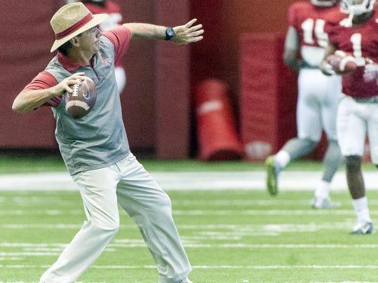 Alabama Football Practice Jan.4