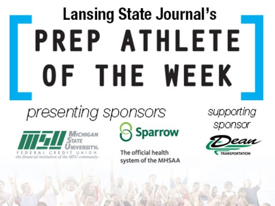 Lansing State Journal prep athlete of the week