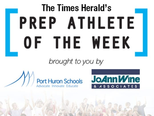 Athlete of the week vote logo