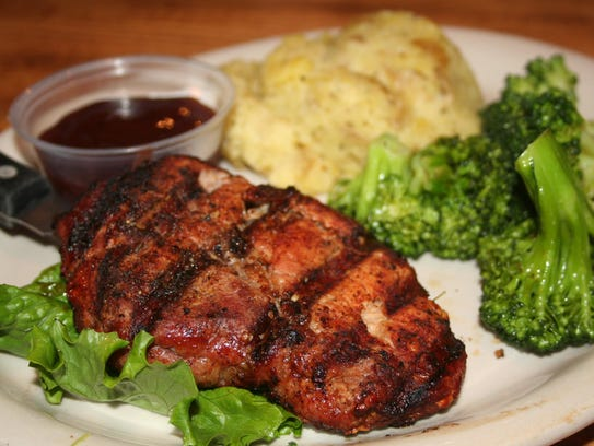 Prime Pork Ribeye includes a specialty barbecue rub