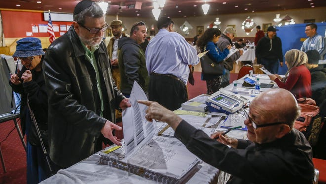 Voters have turned out in large numbers for primaries this year, like this polling place in Chicago on Tuesday.