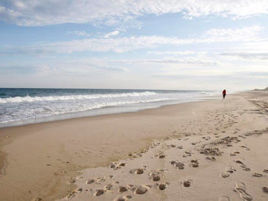This May 13, 2010 file photo shows Coopers Beach in Southampton, N.Y.