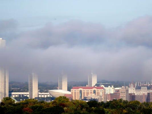 Foggy Albany Skyline