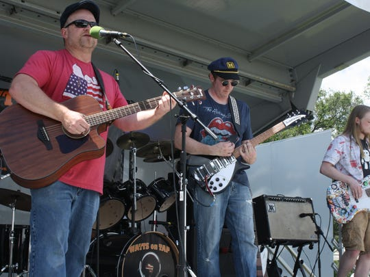 Watts on Tap performs at the July 4th Extravaganza on Tuesday.
