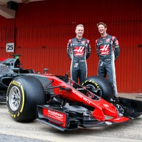 Haas F1 unveils new car for its second season in Formula One