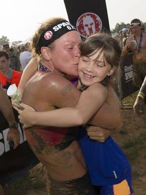 Rachel Hamrick celebrates a win.