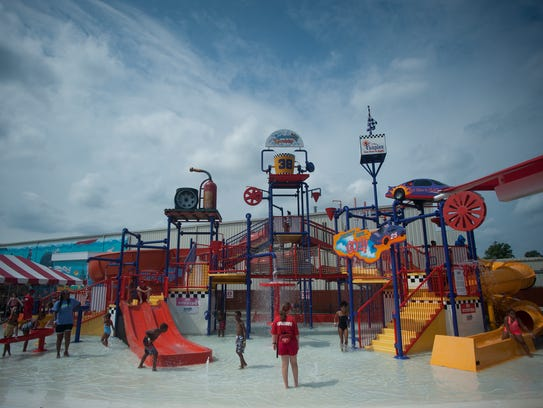 Splashplex, a water park that is part of Funplex in