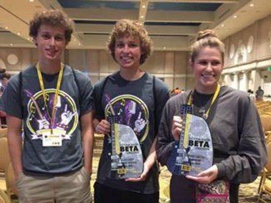 STM National Beta Winners crop