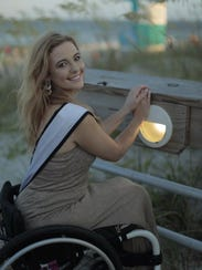 Madeline Delp is Ms Wheelchair USA 2017.
