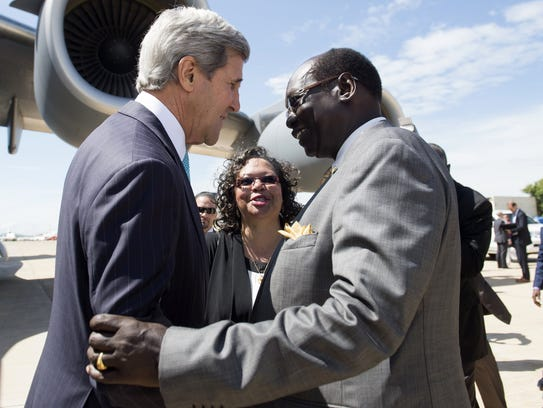 South Sudan Kerry