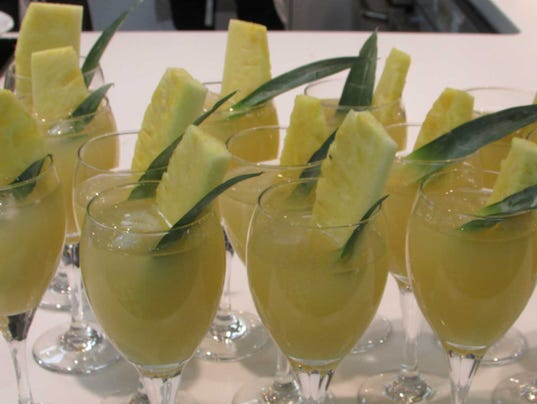 Pic 8 Green Tea Pineapple Cooler