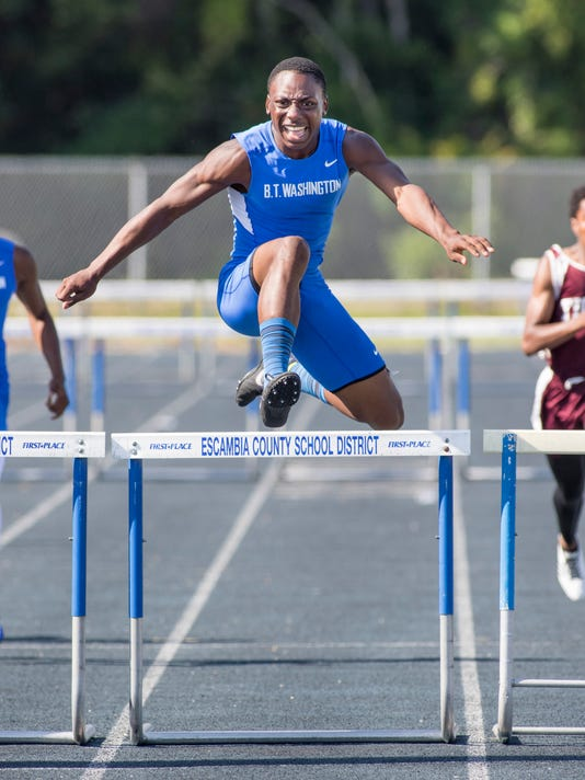 FHSAA 3A District 1 track