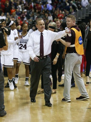 Mississippi State head coach Vic Schaefer said he is excited by the Bulldogs' upcoming road trip for a variety of reasons. His team hits the road for three-straight games.