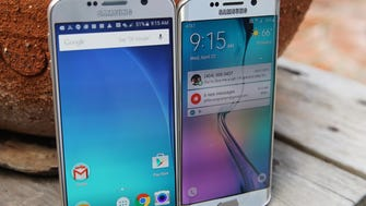 Samsung Galaxy S6 and the S6 Edge phones