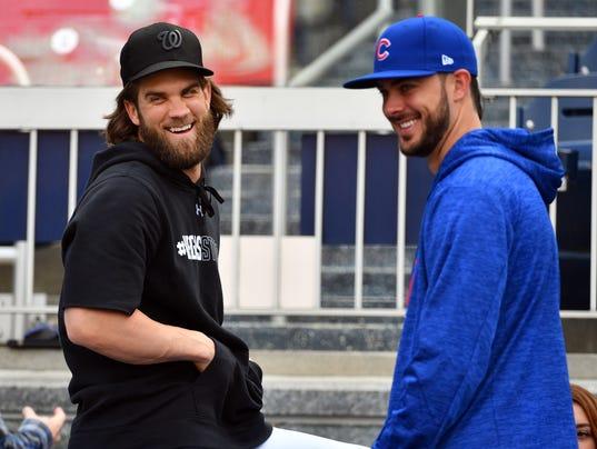 USP MLB: NLDS-WORKOUTS S BBN USA DC