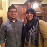 Haseeb Sheikh, left, and his mother, Saima Sheikh, are moderate Muslims living in North Dallas and have key roles in preventing American Muslims from radicalizing.
