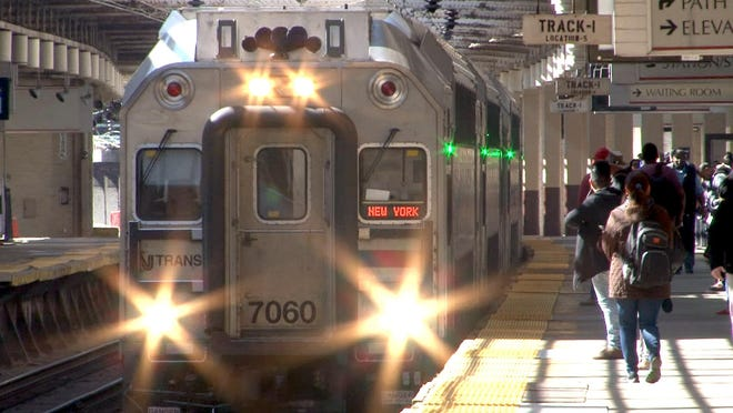 NJ Transit has banned alcohol on trains and buses this weekend.