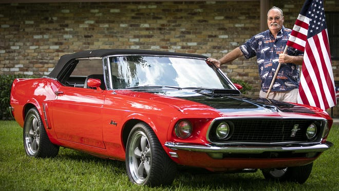 "Ocala nativae David Tucker has owned his '69 Mustang since he got out of the Air Force in 1979. ""My dad would never buy me a Mach I,"" he said with a chuckle last week."