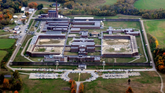 In this aerial photo, Green Haven Correctional Facility is pictured in Stormville.