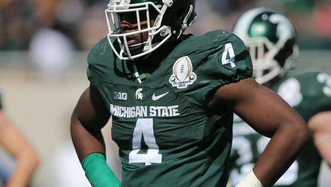 At 6-6, 280, Malik McDowell is not built like most DLs.