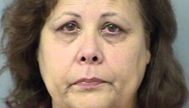 Ana Maria Moreta Folch was charged with felony criminal mischief after bulldozing her neighbors' mobile home in St. Augustine, Fla.