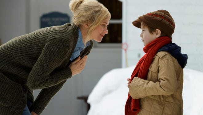"Naomi Watts and Jacob Tremblay in ""Shut In."""