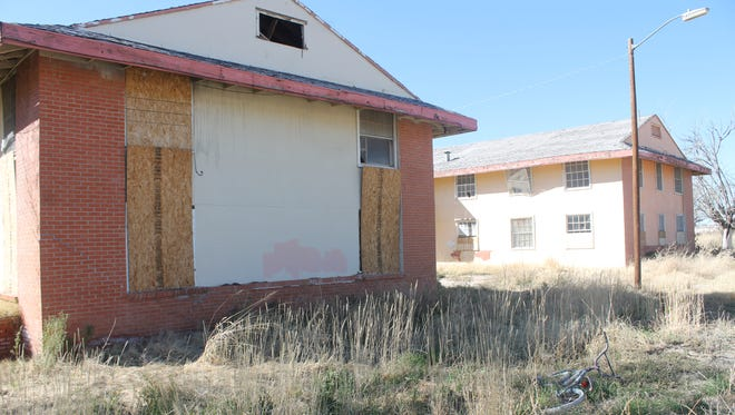The Sahara Apartments remain in disrepair in this 2016 file photo. Though the City Commission declared the structures dilapidated and ordered their removal in 2015, the owners appealed and case has been tied up in court since. On Thursday, the city's legal team were victorious in their motion to dismiss the appeal as no action has been taken in two years.