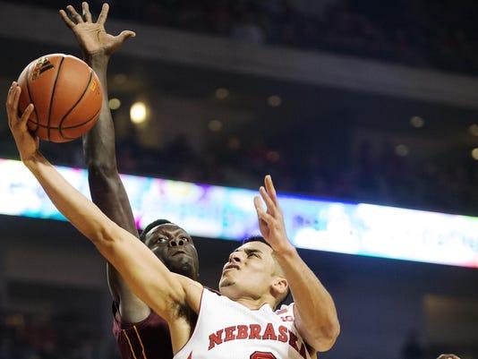 Nebraska Minnesota Basketball