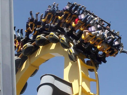 Batman: The Ride has been thrilling guests at Six Flags Great Adventure in Jackson since 1993.