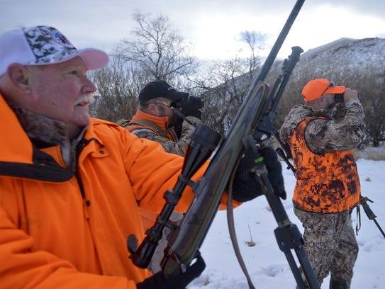 The Purple Heart Veterans Hunt by the Field and Dreams