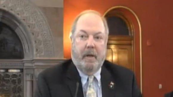 Former Rockland County Executive Scott Vanderhoef is