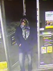 Police asked for the public's help in identifying this man, who they connected with three different theft incidents.