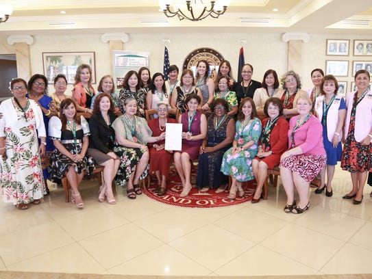 Guam Council of Women's Clubs celebrated their 35th
