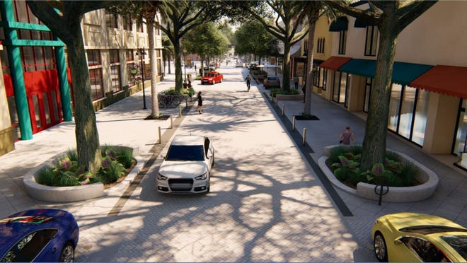 West Palm Beach officials say they'll speed some projects up, like the Clematis streetscape, rather than hold off during the pandemic.
