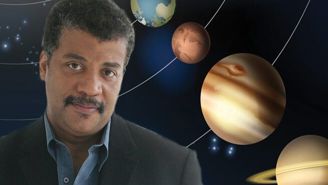 Neil deGrasse Tyson brings the cosmic perspective to Newark this December.