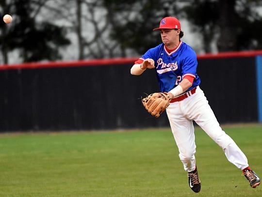 Volunteer State freshman second baseman Zach Ehrhart