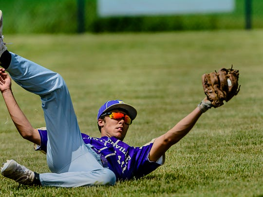 Junior JT Maybee is one of the top returning players from a Fowlerville baseball team that won a league and district title last season.