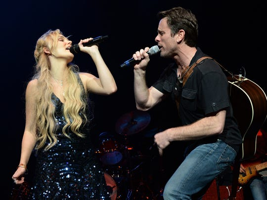 """""""Nashville"""" cast members Clare Bowen and Charles Esten will perform on Aug. 2 at the Indiana State Fair."""